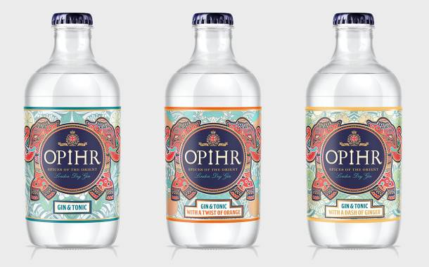 Opihr Gin launches new ready-to-drink range in the UK