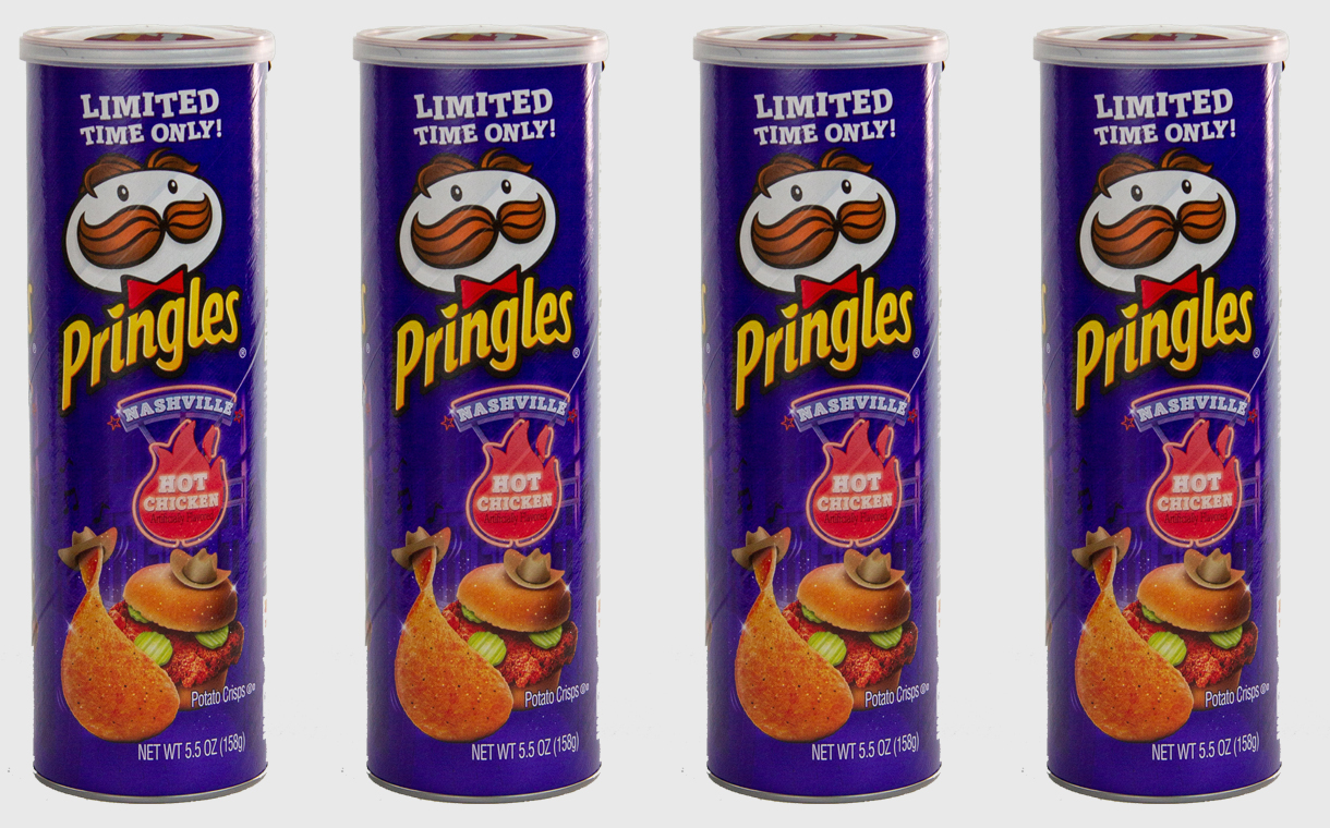 Pringles unveils limited-edition Nashville hot chicken flavour