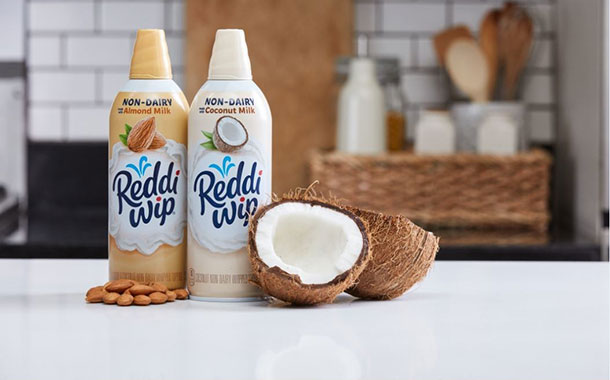 Reddi-wip unveils dairy-free, plant-based whipped toppings