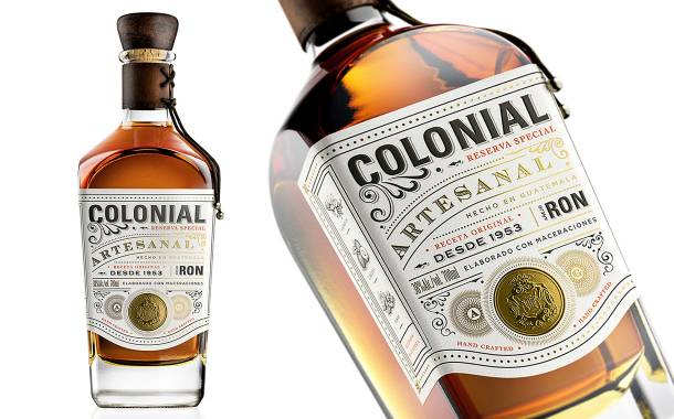 Guatemalan rum brand Ron Colonial gets new visual identity