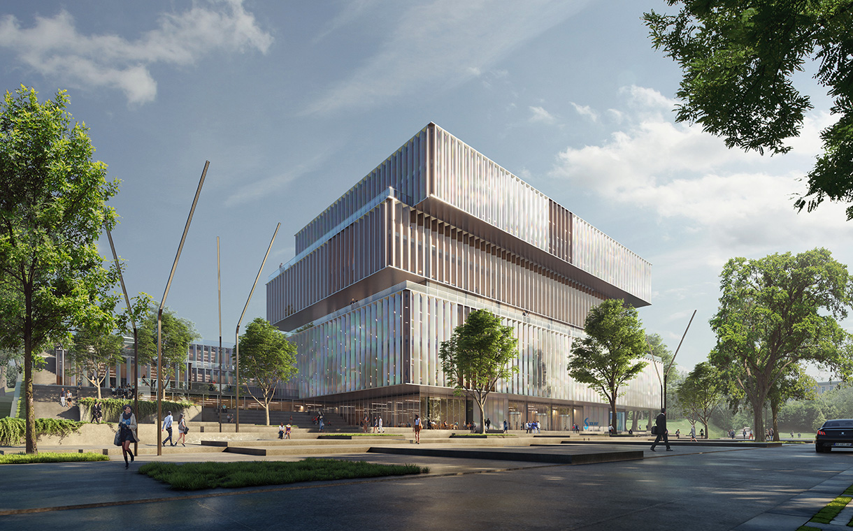 Solvay Reveals Plans To Build A New Headquarters In