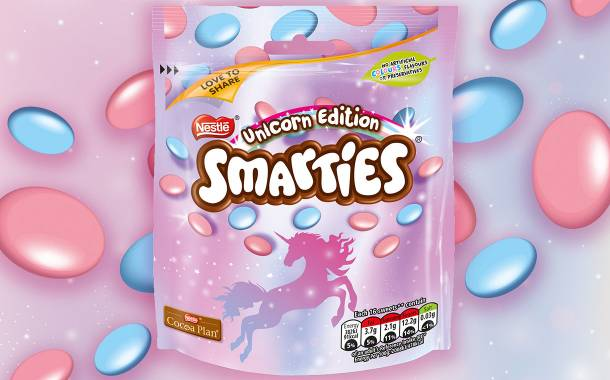 Nestlé to launch special-edition Unicorn Smarties in the UK