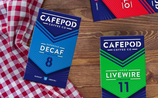Challenger UK coffee brand releases new visual identity