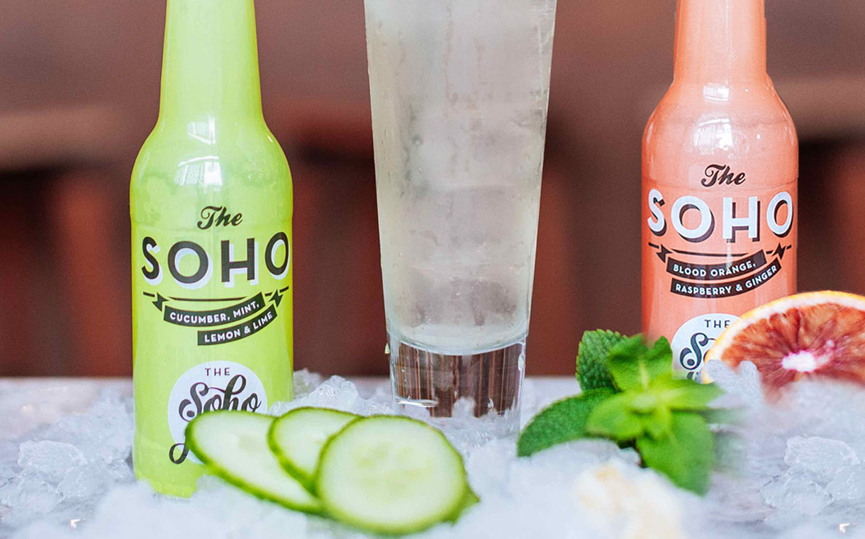 London-based juice brand launches premium still mixers