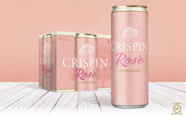 Crispin Rosé to roll out slim cans for the US in September
