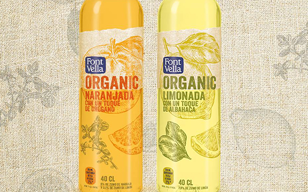 Danone's Font Vella releases new organic drink line in Spain