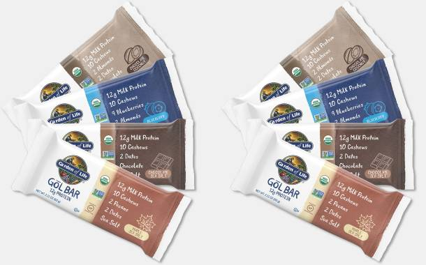 Garden of Life unveils gluten-free, whole-food GōL snack bars