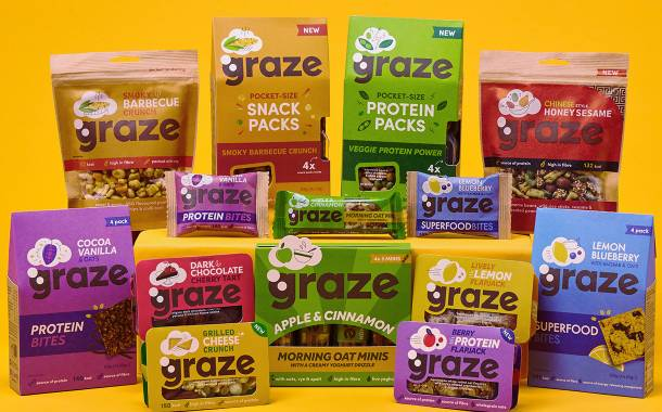 Unilever looks to grow in healthy snacking sector with Graze deal