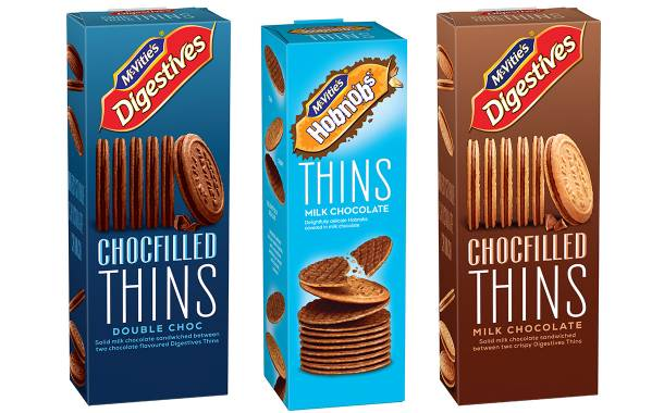 Pladis adds to its McVitie's Thins portfolio with two new variants