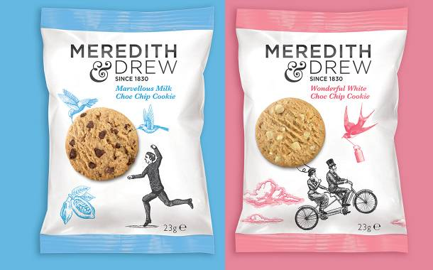 Pladis biscuit brand Meredith & Drew gets packaging redesign