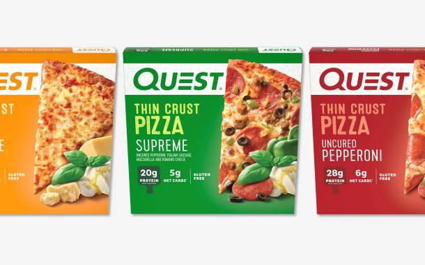 Quest Nutrition unveils three new low-carb, high-protein pizzas