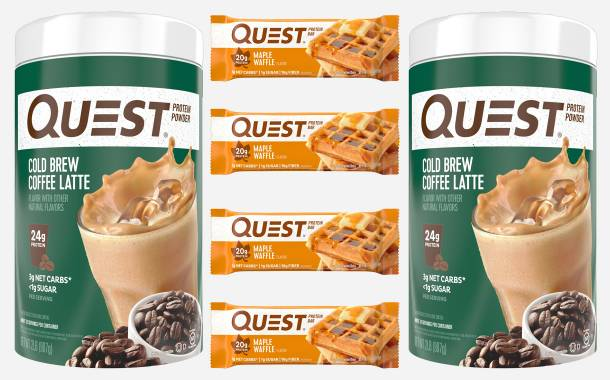 Quest Nutrition unveils new protein powder and bar flavours