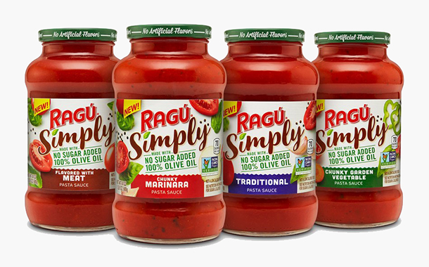Ragu to release new range of no-added sugar sauces in the US
