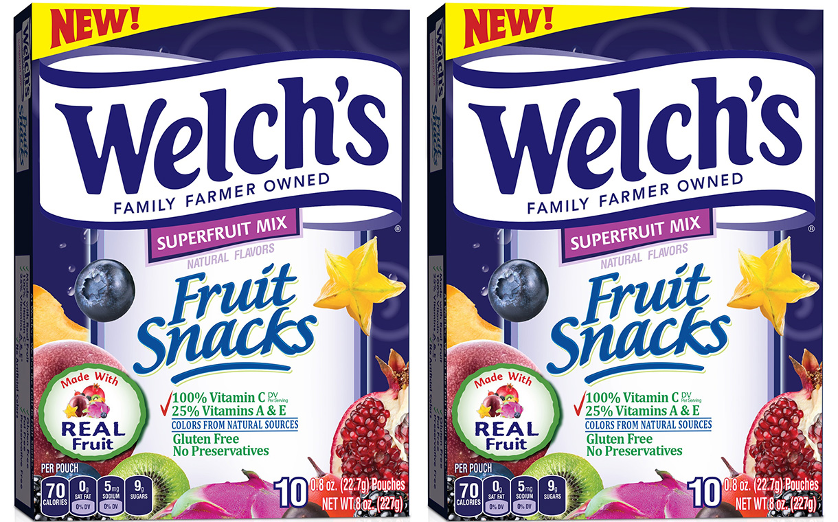welch's unveils superfruit mix line with fruit as main ingredient