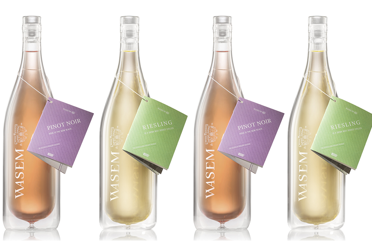 Cooleo launches 'world's first' double-layered wine bottle