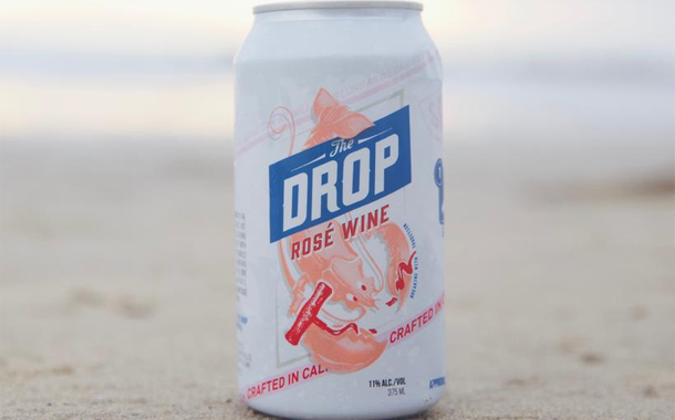 The Drop Wine releases convenient resealable can of rosé