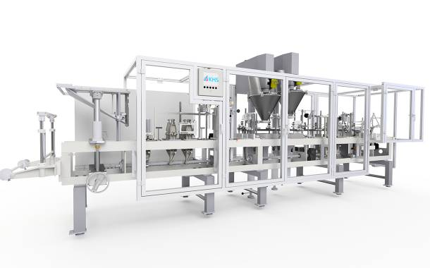KHS manufactures new pouch filling and sealing system