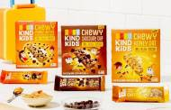 Kind launches chewy granola bar range for children's lunchboxes
