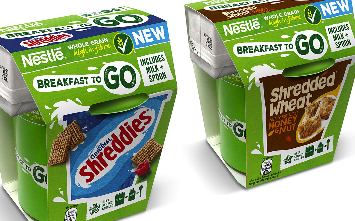 Nestlé Cereals unveils on-the-go line, targeted at busy consumers
