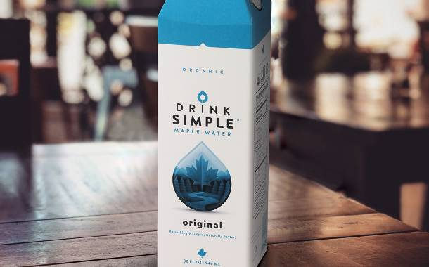 SIG provides renewable carton for Drink Simple Maple Water