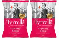 Pink crisps: Tyrrells introduces raspberry bellini variant in UK