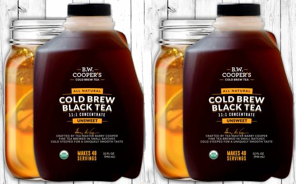 Cooper Tea Company unveils cold brew tea concentrate