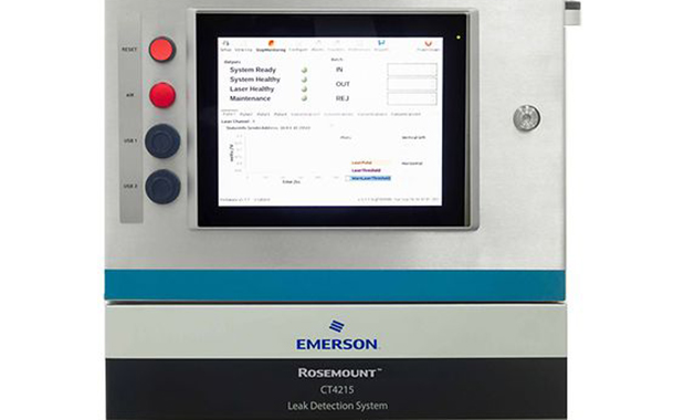 Emerson creates new packaging leak detection system