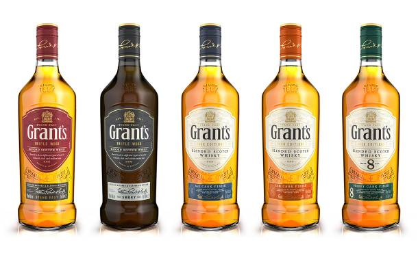 Whisky brand Grant's heralds global packaging redesign