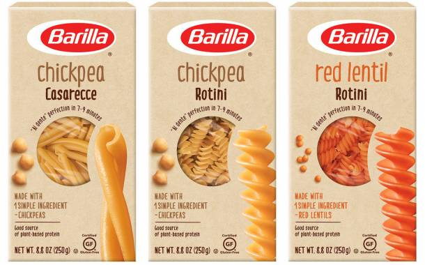 Barilla unveils new pasta line made with lentils or chickpeas