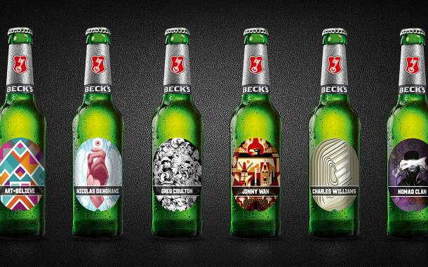 AB InBev unveils six limited edition Beck's labels