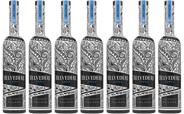 Belvedere Vodka launches new bottle with a full wrap sleeve