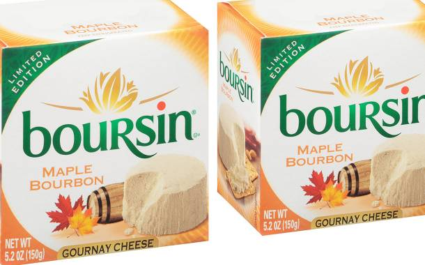 Bel Brands USA introduces new maple bourbon Boursin cheese