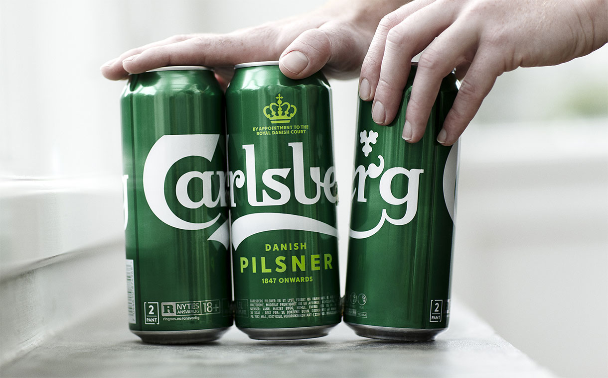 Carlsberg to scrap plastic rings on beer cans in favour of glue