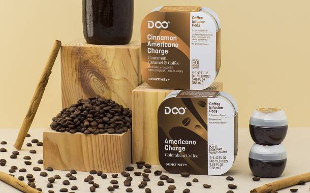 PepsiCo's Drinkfinity releases two coffee-flavoured drink pods
