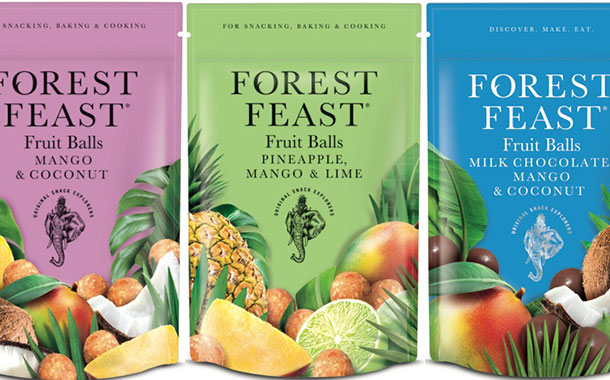 Forest Feast introduces new fruit balls alongside packaging refresh