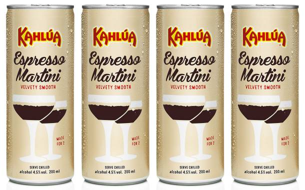 Pernod Ricard launches ready-to-drink Kahlúa espresso martinis