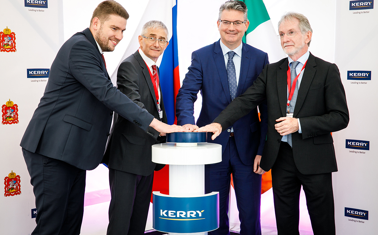 Kerry opens its first ingredient production facility in Russia