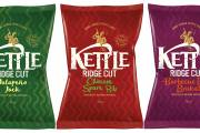 Kettle Chips unveils three-strong Ridge Cut crisps range in the UK