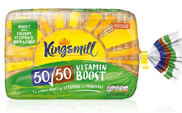 Allied Bakeries' Kingsmill brand adds new vitamin-fortified loaf