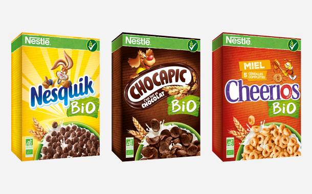 Nestlé to introduce organic breakfast cereal variants
