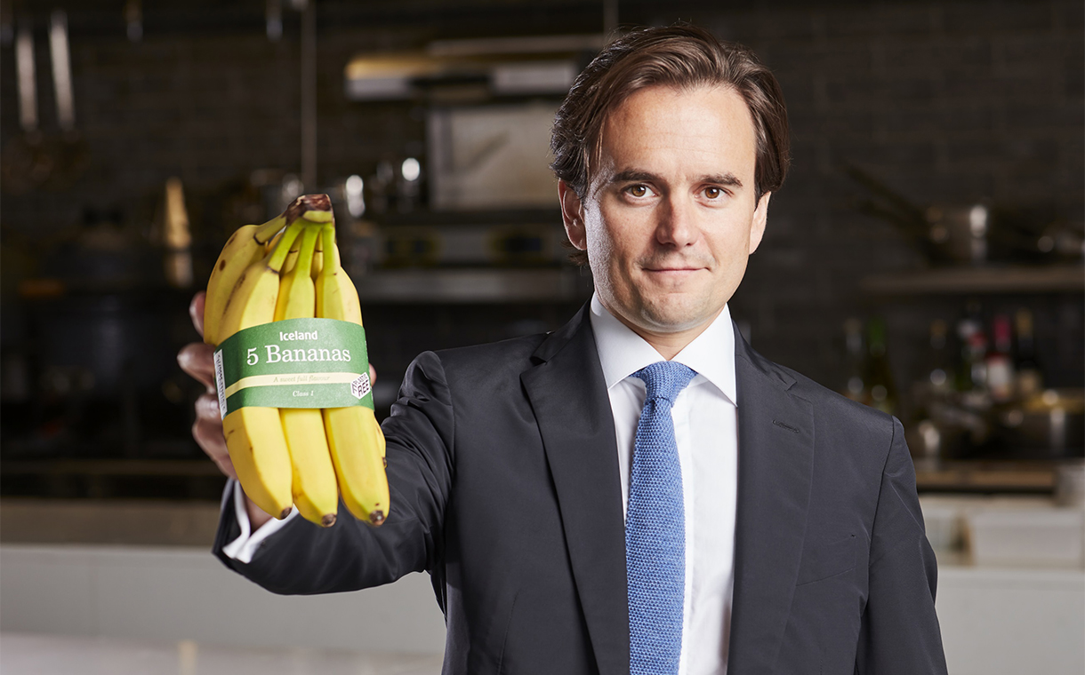 Iceland swaps plastic bags for paper bands in packs of bananas