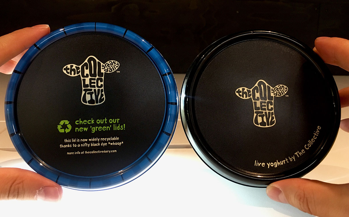 The Collective yogurts to feature recyclable black plastic tubs
