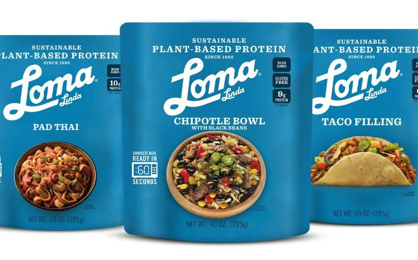 Atlantic Natural Foods launches Loma Linda plant-based meals