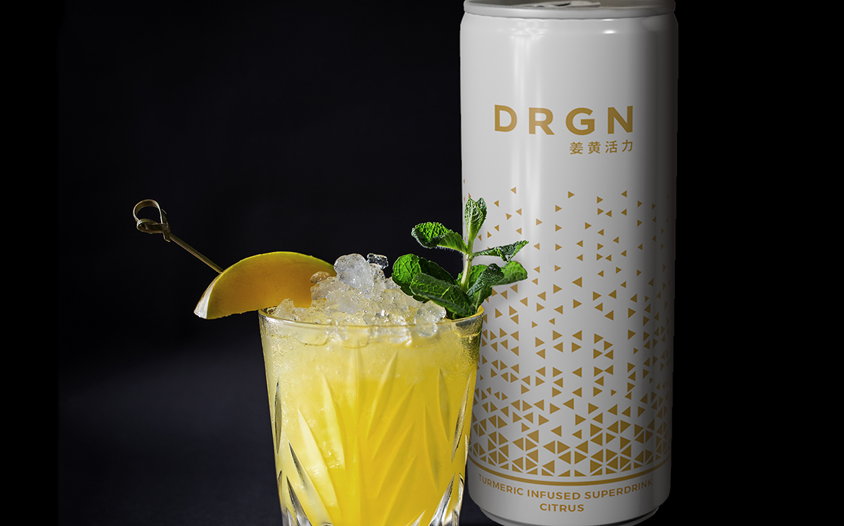 DRGN unveils new functional soft drink with turmeric and vitamins