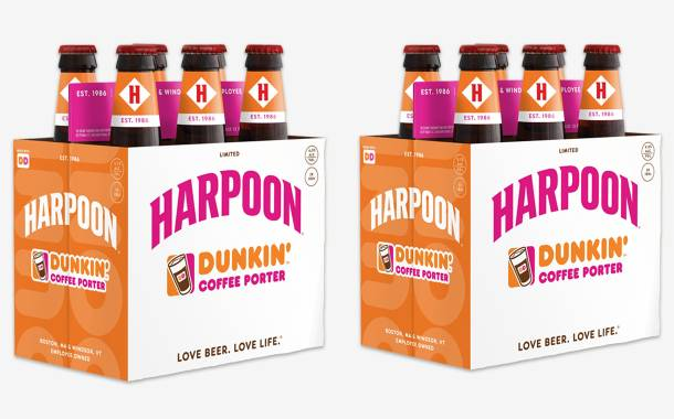 Dunkin' Donuts and Harpoon Brewery create Coffee Porter