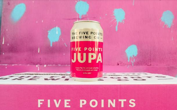 The Five Points Brewing Company launches 'tropical' pale ale Jupa