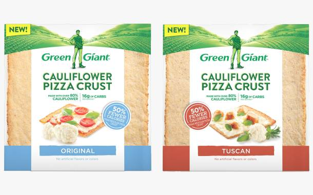 Green Giant releases cauliflower crust pizza bases