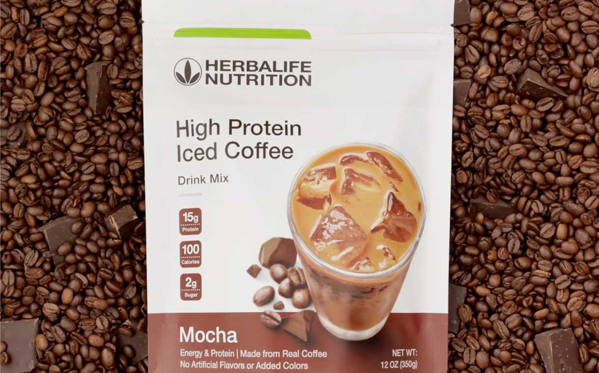 Herbalife Nutrition to release a high-protein iced coffee mix