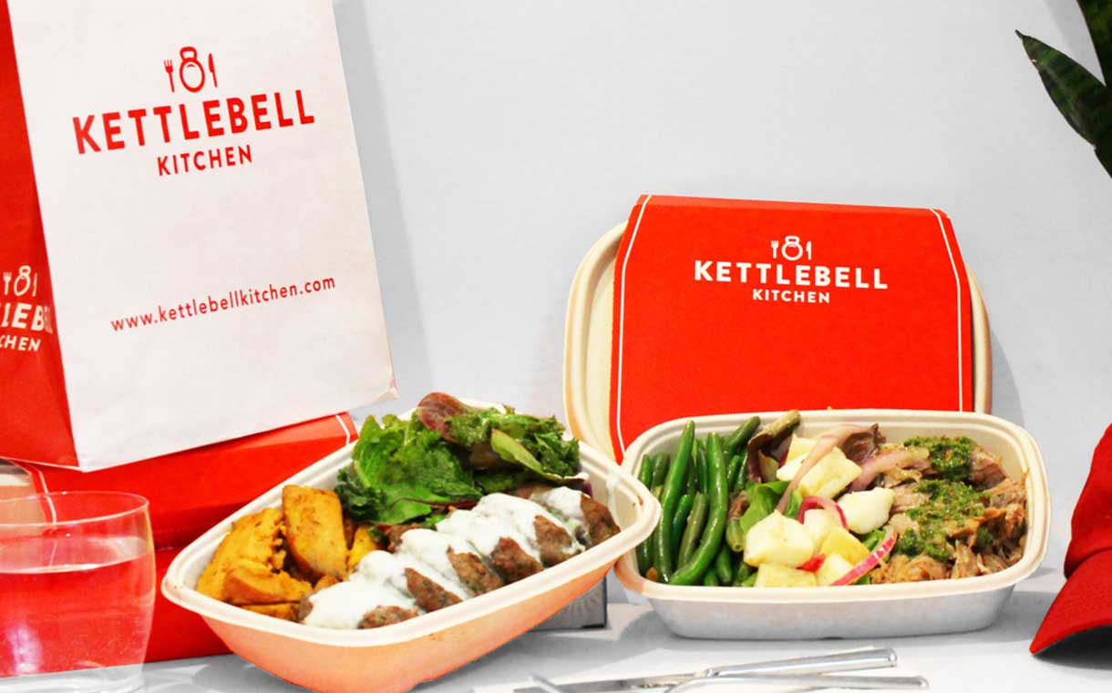 Meal service Kettlebell Kitchen secures
