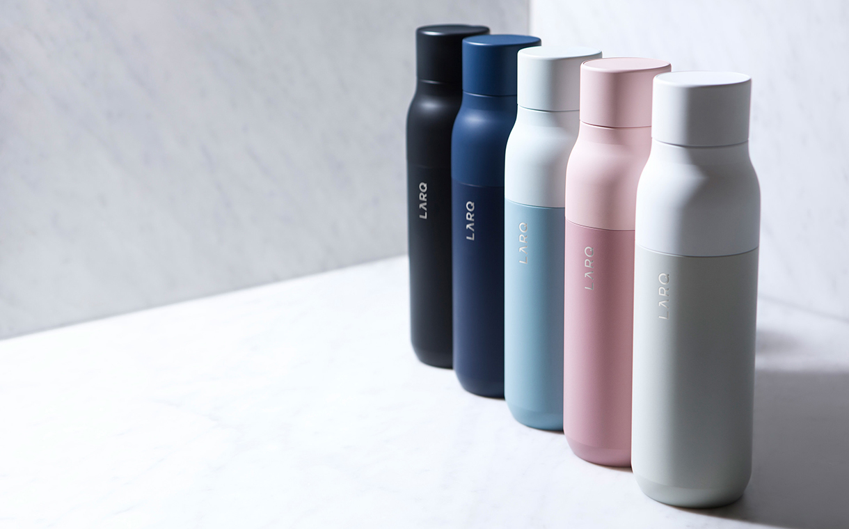 Larq creates the 'world's first self-cleaning' water bottle